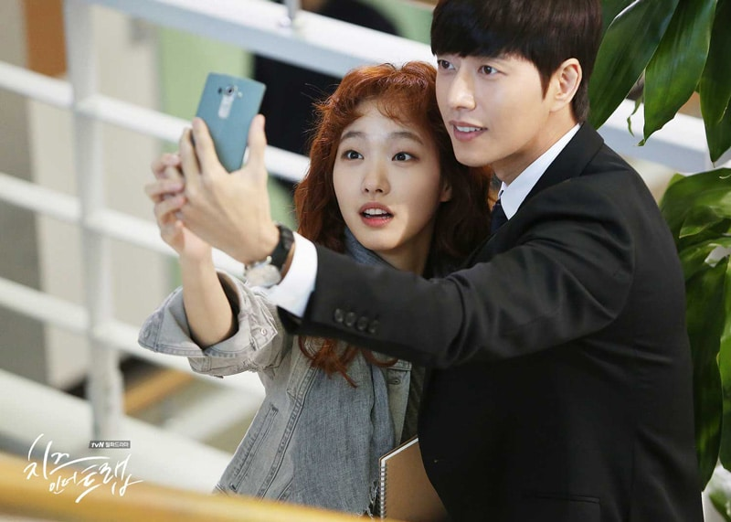 Kim Go Eun et Park Hae Jin dans Cheese in the Trap