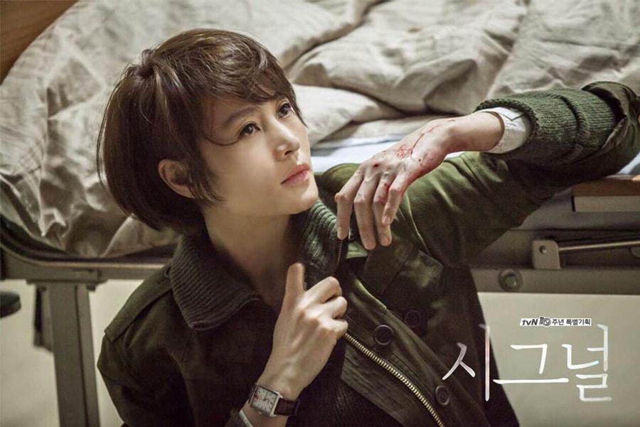 Kim Hye Soo dans le drama coréen Signal