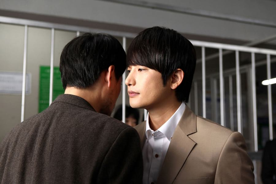 Park Shi Hoo dans le film Confession of Murder