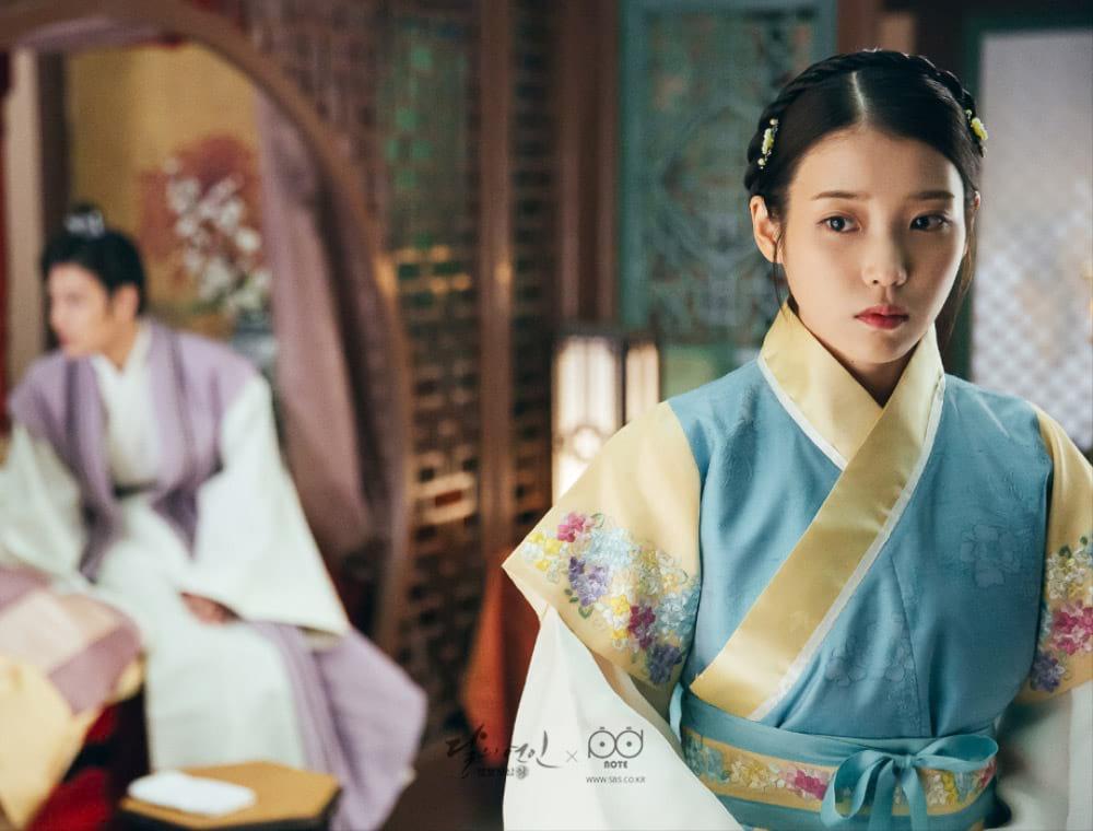 IU dans le drama Moon Lovers: Scarlet Heart Ryeo