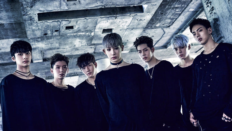 Le groupe Monsta X