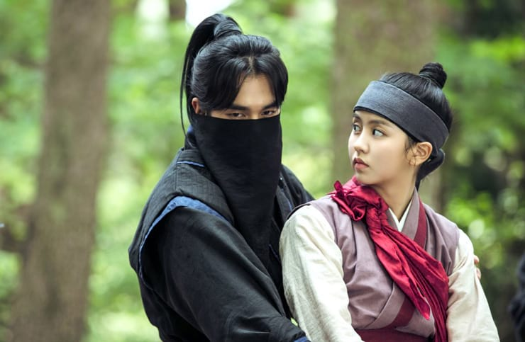 Yoo Seung Ho et Kim So Hyun dans Ruler: Master of the Mask