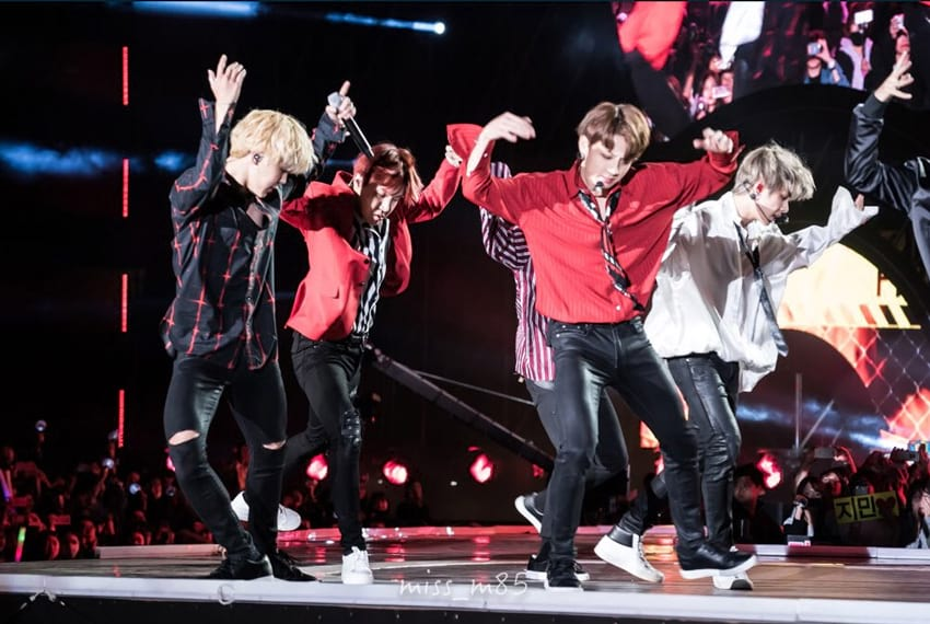 BTS au K-pop World Festival 2017