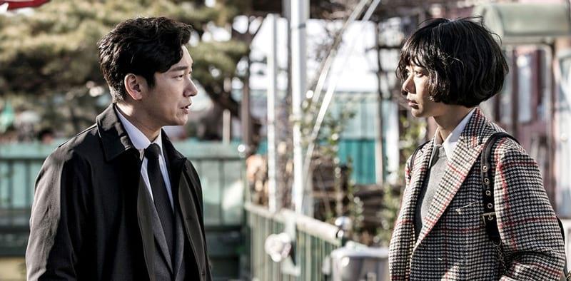 Cho Seung Woo et Doona Bae dans Stranger