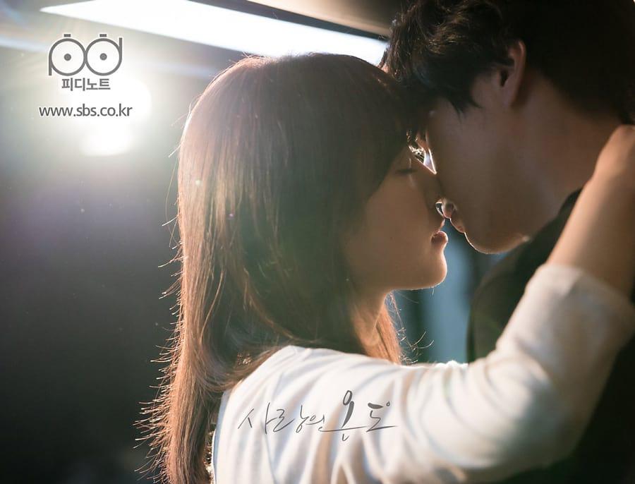 Temperature of Love : scène de baiser dans la cuisine