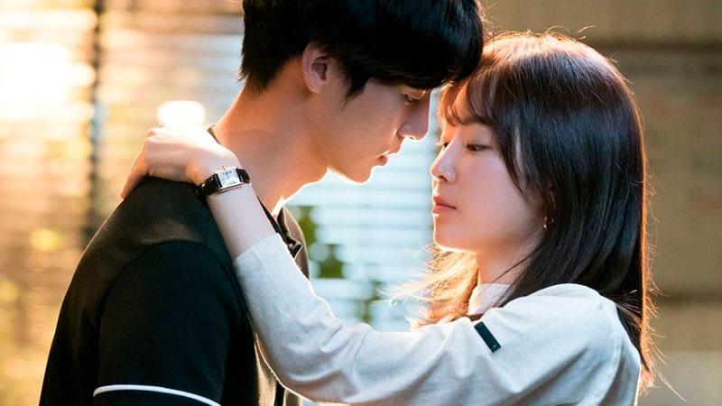 Temperature of love: scène de baiser