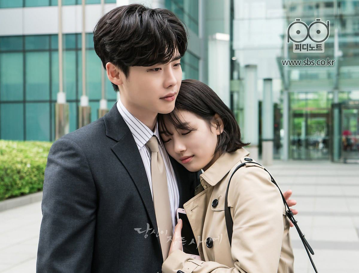 Lee Jong Suk et Suzy dans While You Were Sleeping