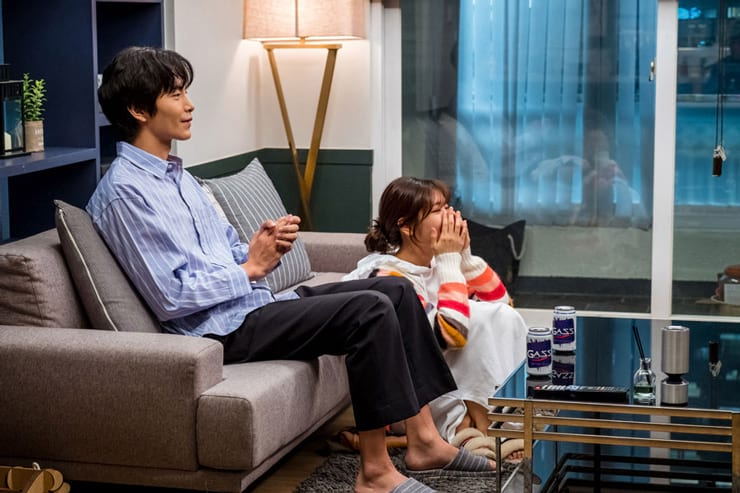 Lee Min Ki et Jung So Min dans Because This Is My First Life (tvN)