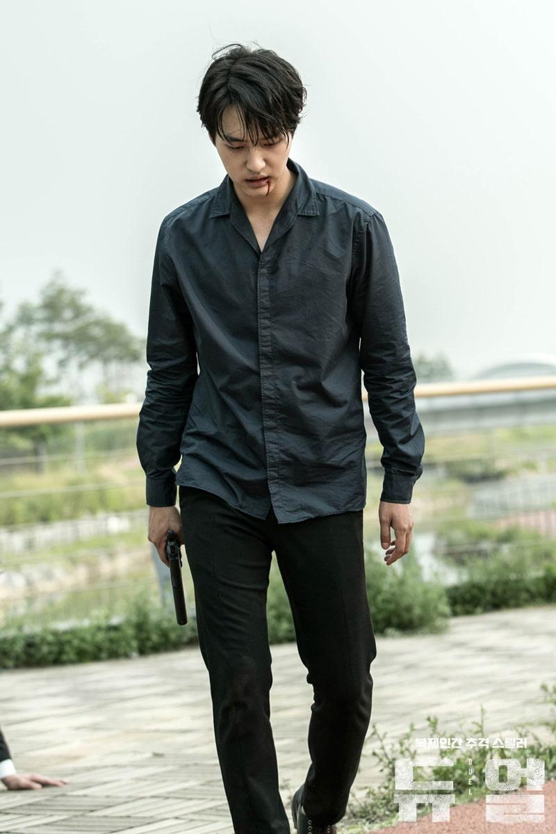 L'acteur Yang Sejong dans Duel