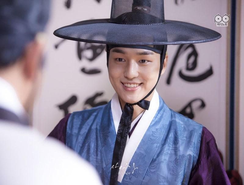 Lee Gyeom (Yang Se Jong) dans le drama coréen Saimdang, Light's Diary (SBS, 2017)