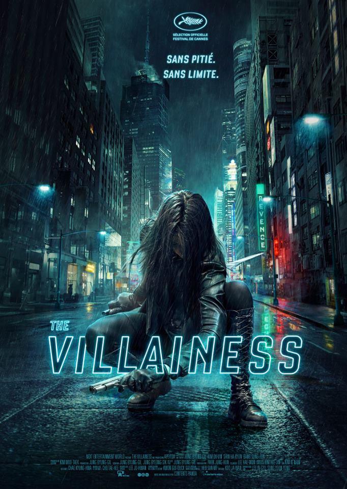 The Villainess, avec Kim Ok-Vin : affiche française du film