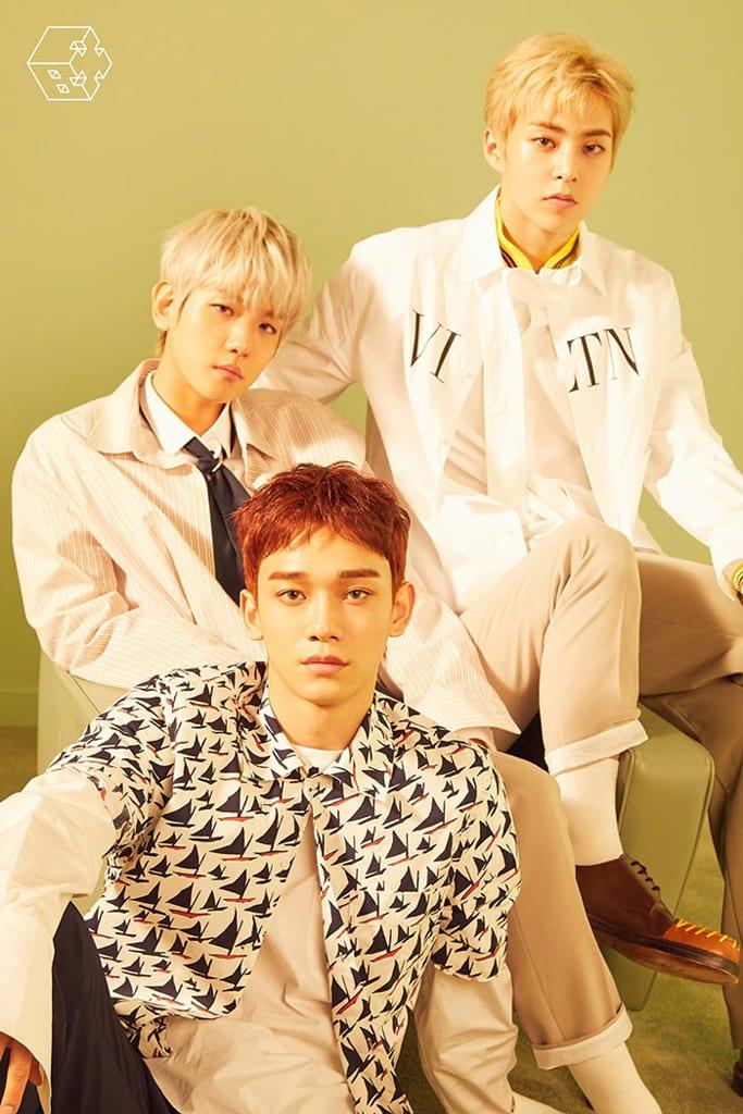 Baekhyun, Chen et Xiumin