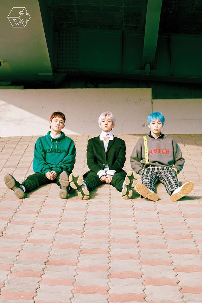 Chen, Baekhyun et Xiumin