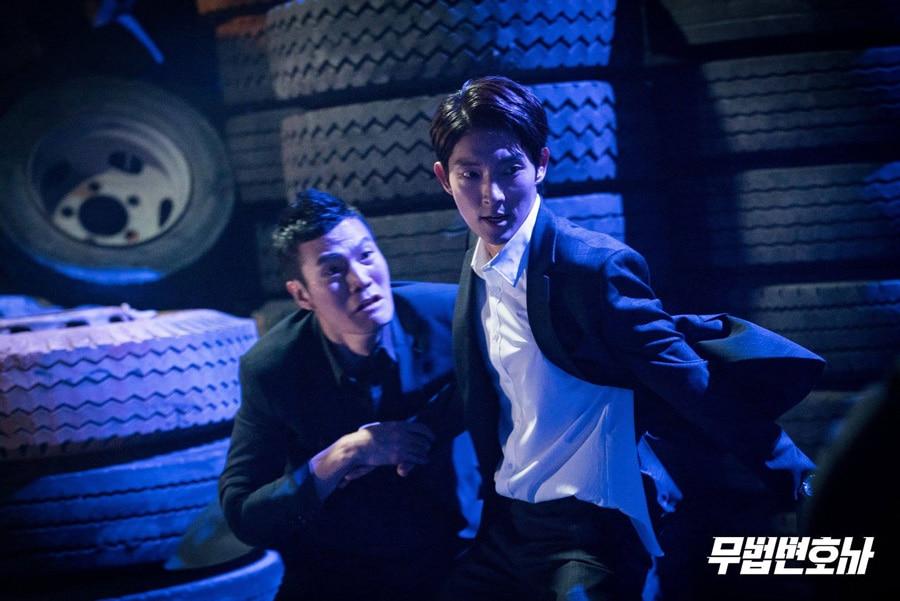 L'acteur coréen Lee Joon Gi dans le drama Lawless Lawyer