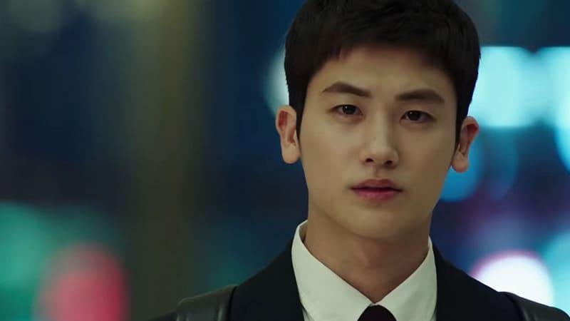Park Hyung Sik dans le drama Suits