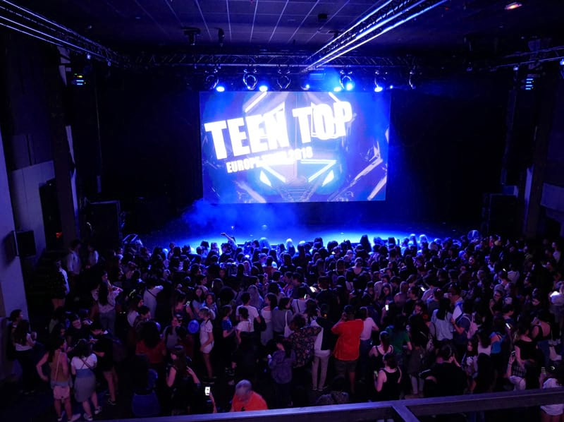Concert de Teen Top à Paris