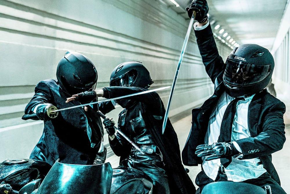 Une scène d'action de The Villainess, du réalisateur Jeong Byeong-Gil