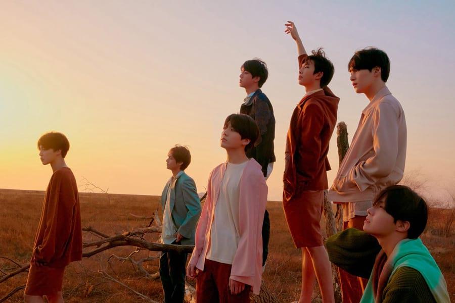 Le groupe de K-pop BTS