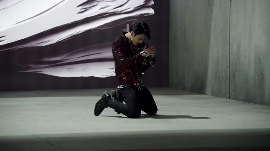 Jungkook danse Fake Love