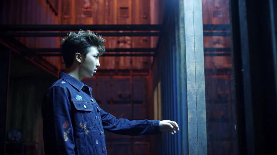 RM dans Fake Love MV