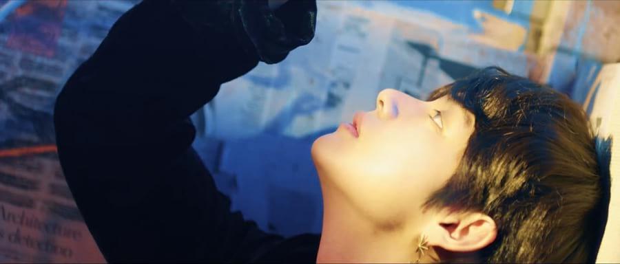 Kim Tae Hyung de profil