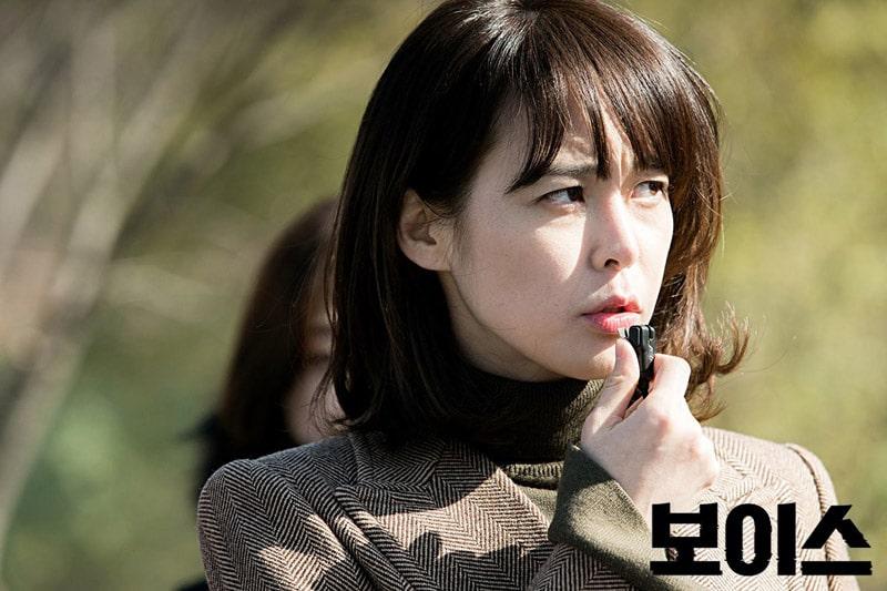 L'inspectrice Kang Kwon Joo (Lee Ha Na) dans Voice (OCN)
