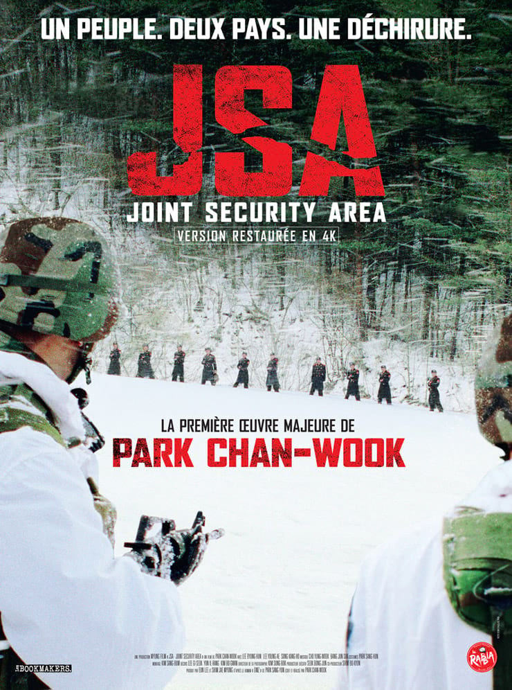 JSA Joint Security Area de Park Chan-Wook : poster français