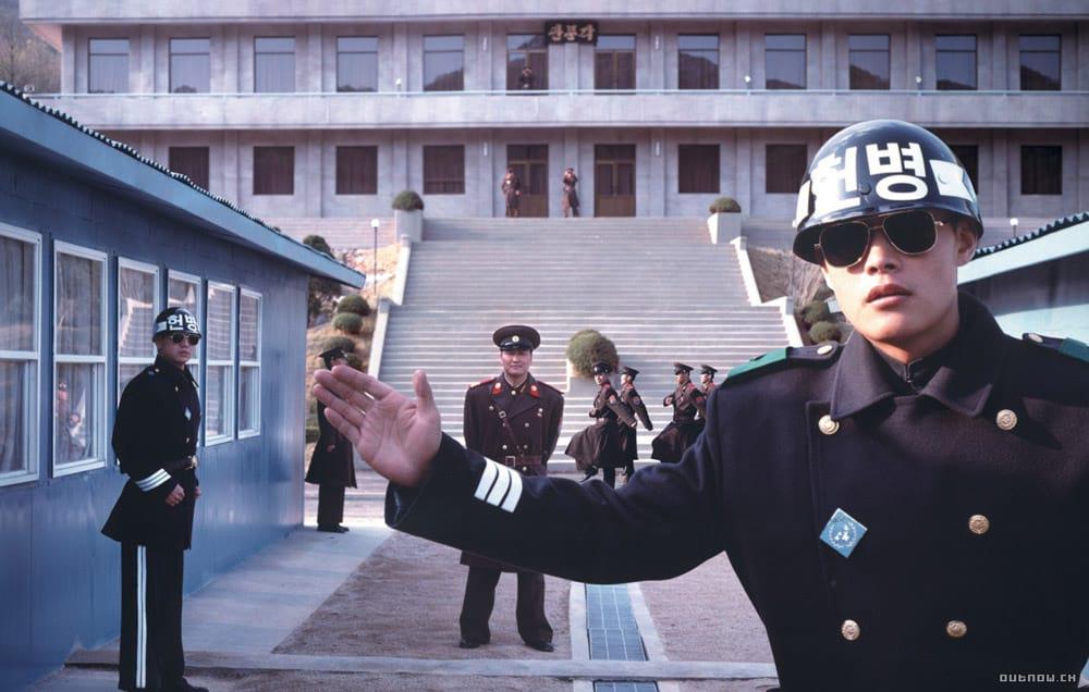 Entre Corée du Nord et Corée du Sud, la DMZ dans le film JSA: Joint Security Area