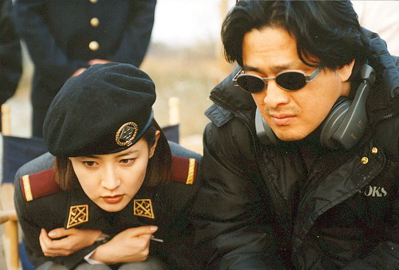 Park Chan-Wook et Lee Young-Ae
