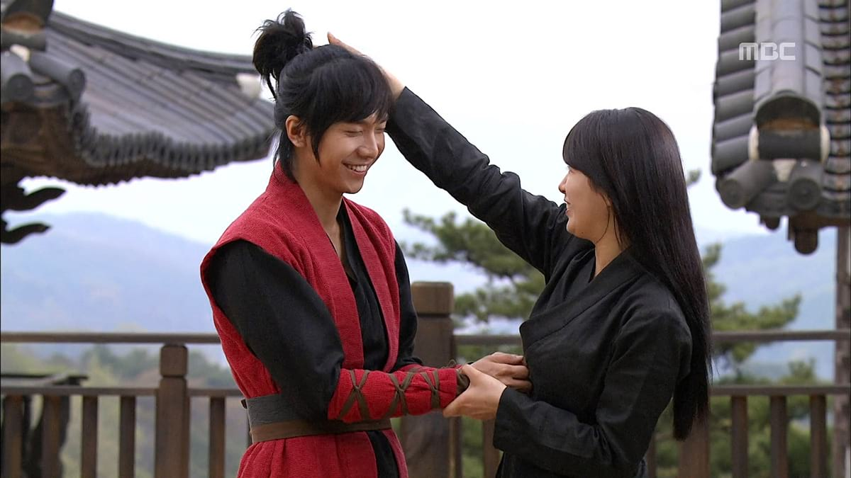 Lee Seung Gi et Suzy dans Gu Fmily Book (MBC, 2013)