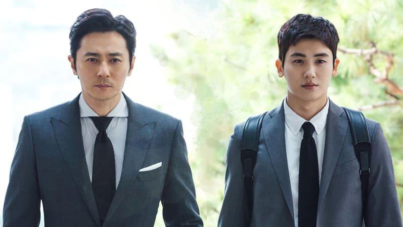 Jang Dong Gun et Park Hyung Sik dans le drama coréen Suits