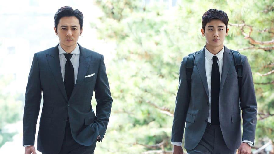Jang Dong Gun et Park Hyung Sik dans le drama Suits