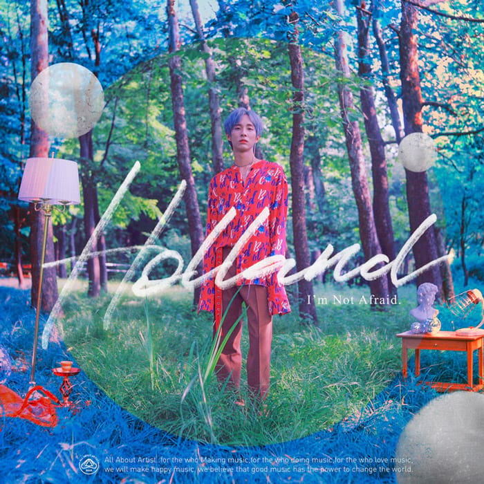I'm not afraid, de Holland : cover