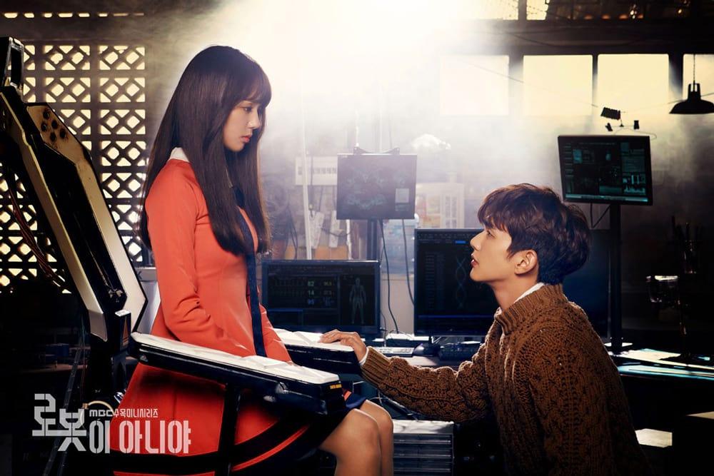 Chae Soo Bin et Yoo Seung Ho dans le drama coréen I'm Not A Robot (MBC)