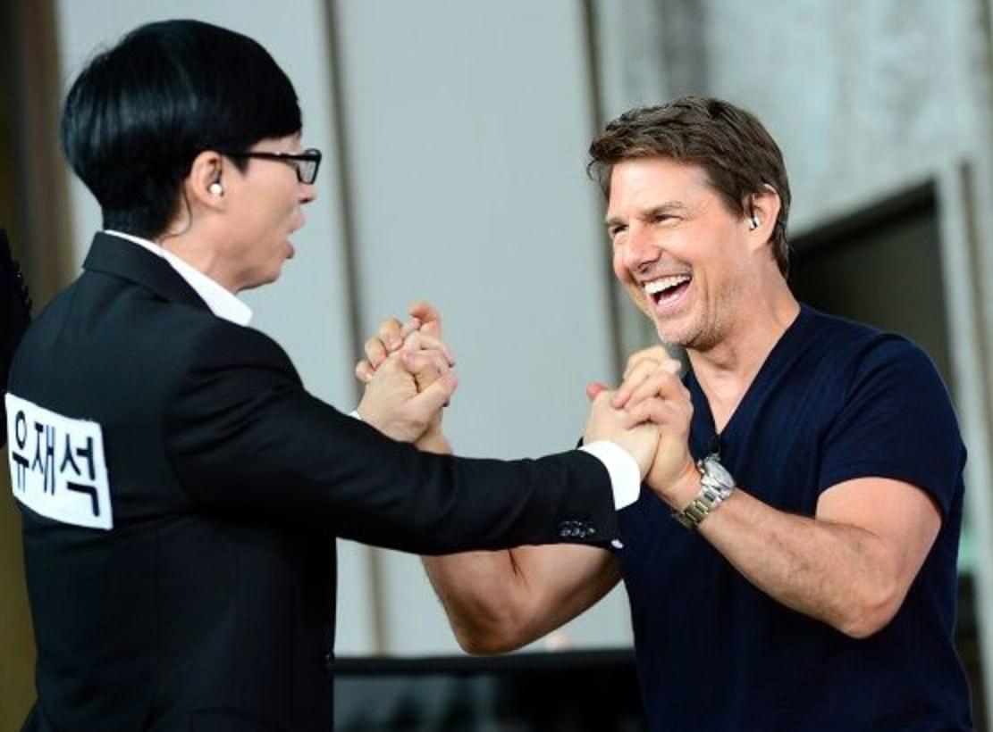 Running Man avec Tom Cruise