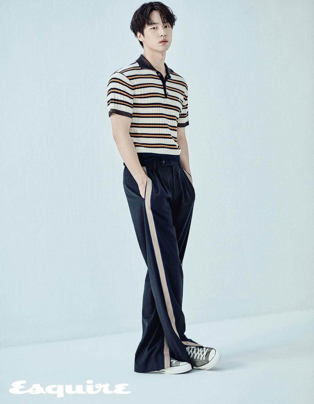 L'acteur coréen Yang Sejong nous offre un superbe photoshoot dans le magazine Esquire Korea