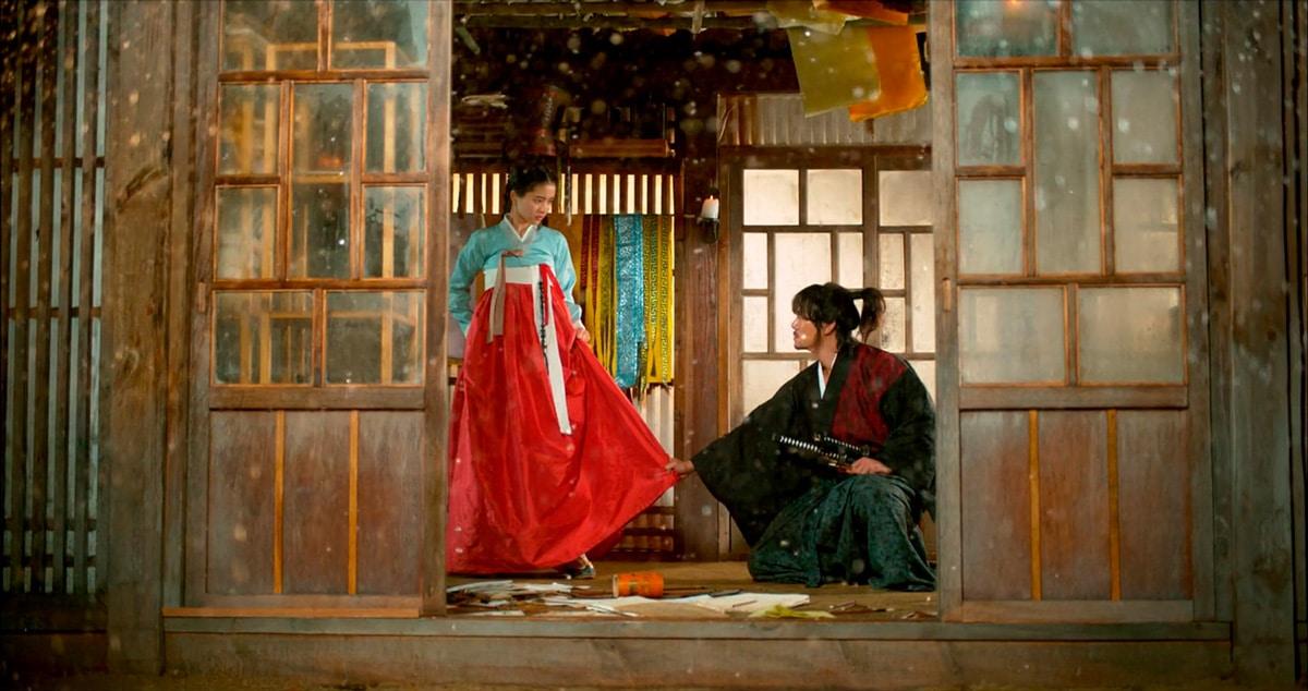 Go Ae Shin et Gu Dong Mae