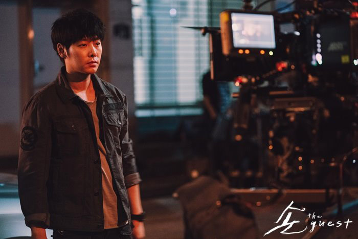 Kim Dong Wook : tournage de The Guest