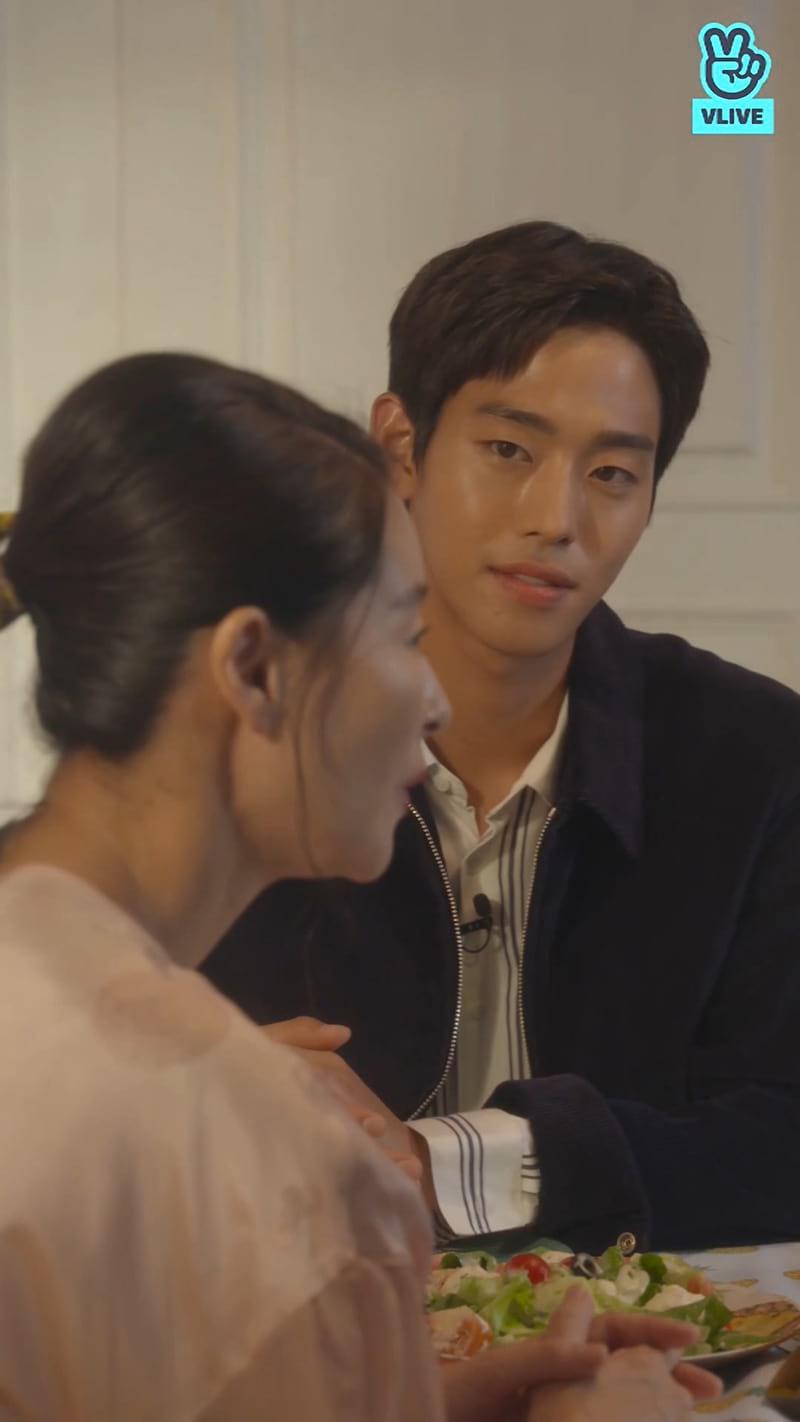 V Live : Ye Ji Won et Ahn Hyo Seop pour Thirty But Seventeen