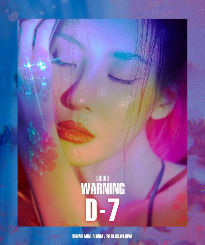 Sunmi : Warning's cover
