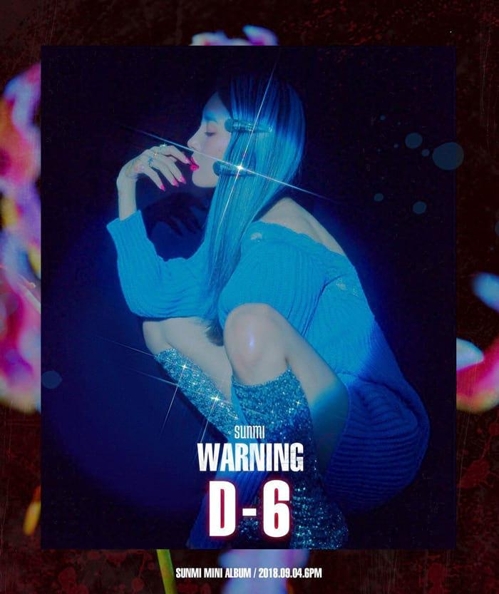 Warning (Sunmi) : D-6