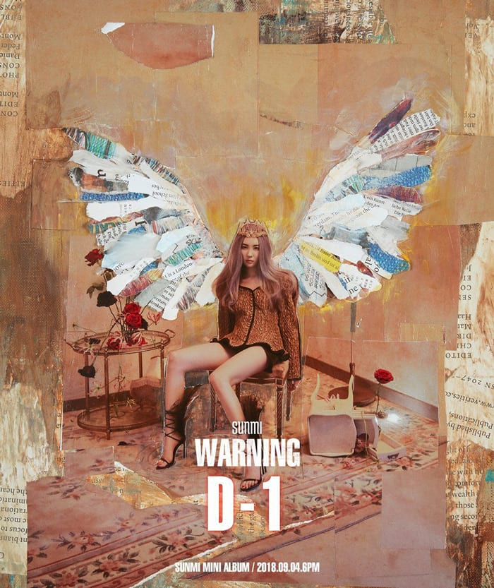 L'album Warning de Sunmi