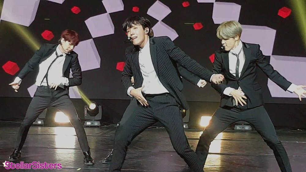 J-Hope au Concert de l'amitié franco-coréenne