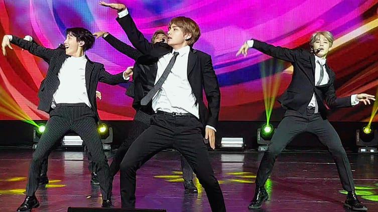 BTS : Concert de l'Amitié franco-coréenne