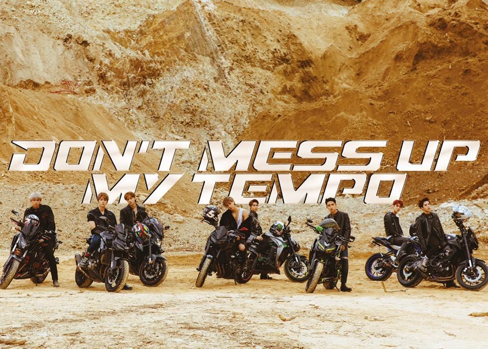 Le groupe EXO pour Tempo