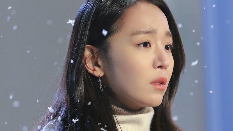 Shin Hye Sun dans le MV Snowfall