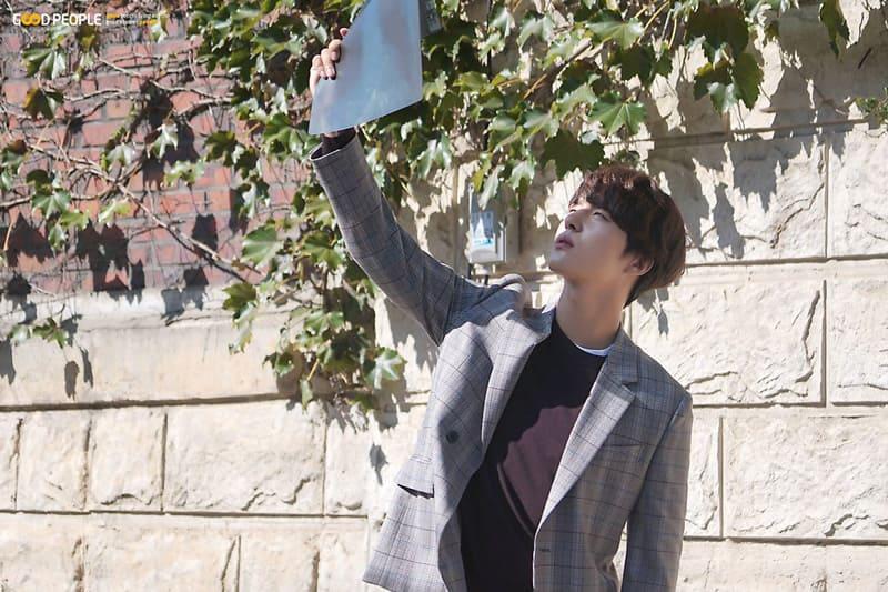 Yang Sejong dans la publicité du ministère de l'agriculture coréen