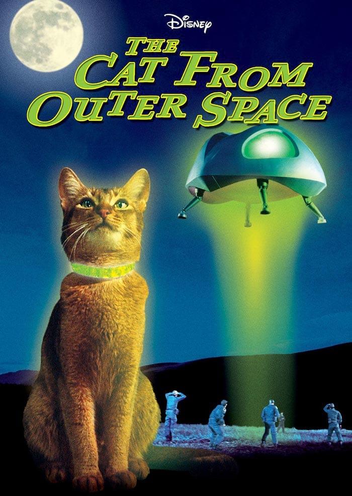 Le Chat qui venait de l'espace : poster