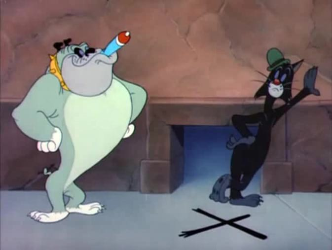 Tex Avery : le chat noir porte malheur