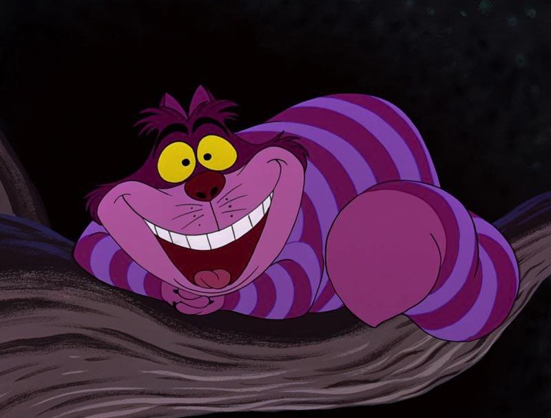Alice au pays des merveilles : Cheshire cat